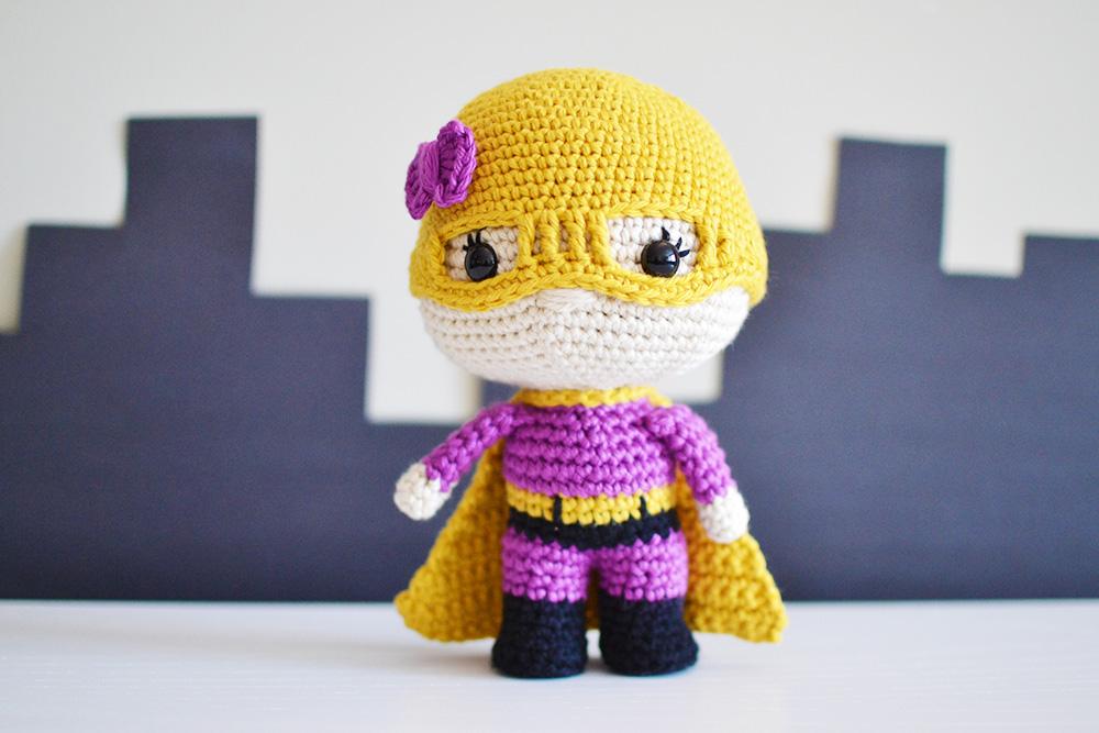 Charity The Superhero Crochet Pattern By Yarn Society